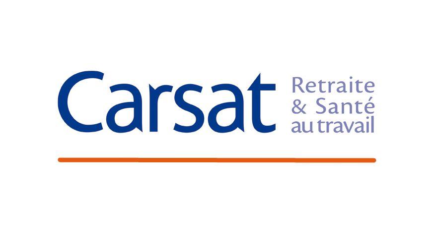 Logo carsat, assurance retraite