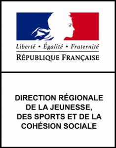 logo directions régionales de la jeunesse, des sports et de la cohésion sociale