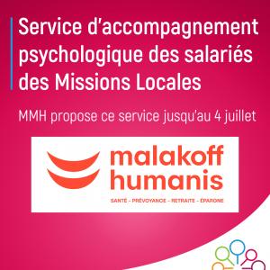 Malakoff Humanis et Missions Locales Psychologie salariés
