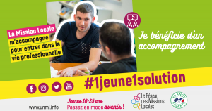 1 jeune 1 solution campagne missions locales